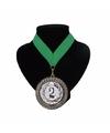 Landen lint nr. 2 medaille groen